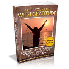 Shift Your Life With Gratitude